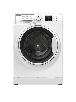 Hotpoint Hotpoint Nm10844Ww 8Kg Load, 1400 Spin Washing Machine - White Picture
