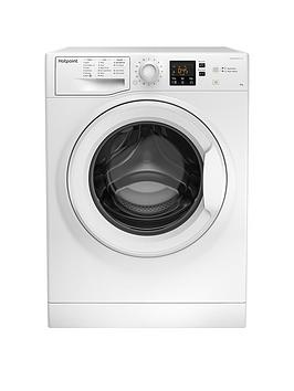 Hotpoint Hotpoint Nswm863Cw 8Kg Load, 1600 Spin Washing Machine - White Picture