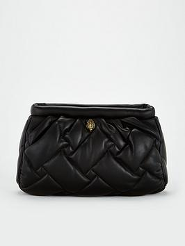 kurt-geiger-london-kensington-soft-clutch-bag-black