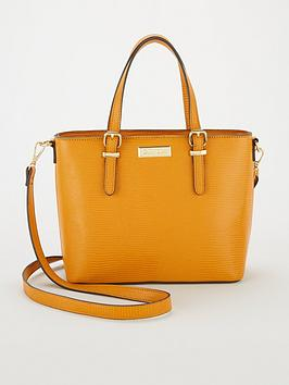 carvela-mini-hex-tote-bag-ochre
