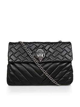 kurt-geiger-london-leather-xxlnbspkensington-shoulder-bag-black