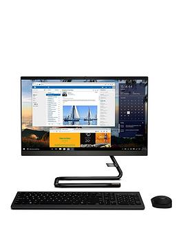 Lenovo   Ideacentre A340-24Iwl Intel Core I5 10210U 8Gb Ram 1Tb Hard Drive & 128Gb Ssd 23.8In Full Hd Aio Desktop -Black