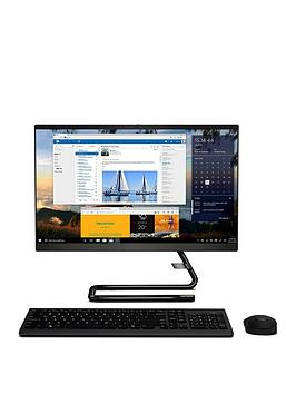 Lenovo   Ideacentre A340-22Igm Intel Pentium J5005 4Gb Ram 1Tb Hard Drive 21.5In Full Hd Aio Desktop -Black