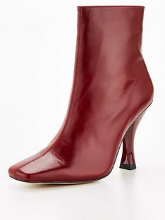kurt-geiger-london-rocco-boot-ankle-boot-red
