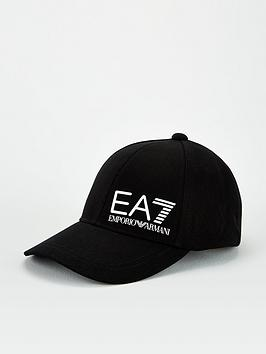 ea7-emporio-armani-core-id-logo-baseball-cap-black