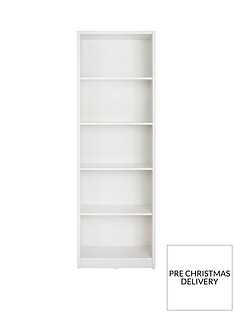 home-essentials--nbspmetro-tall-wide-extra-deep-bookcase-white