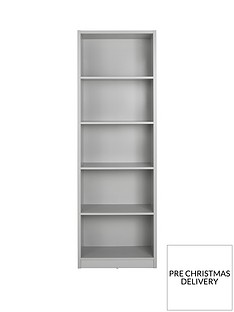 home-essentials--nbspmetro-tall-wide-extra-deep-bookcase-grey