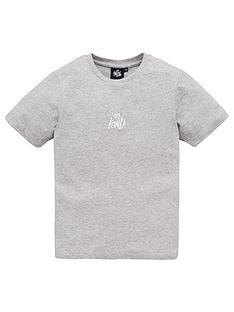 kings-will-dream-boys-crosby-short-sleeve-t-shirt-grey