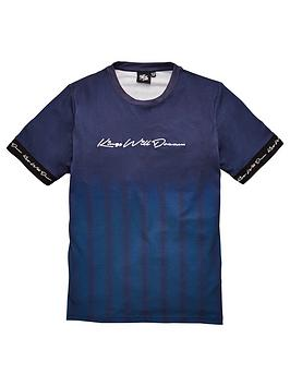 Kings Will Dream Kings Will Dream Boys Farlow Short Sleeve T-Shirt - Blue Picture