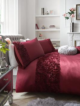 Product photograph showing Cassia Ruffle Duvet Cover Set
