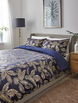 botanical-palm-jacquard-duvet-covernbsp-set
