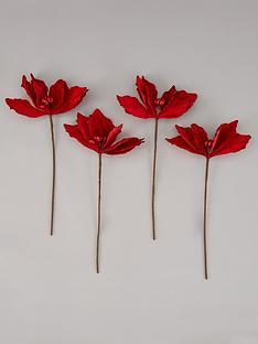 festive-nbspset-of-4-magnolia-tree-picks