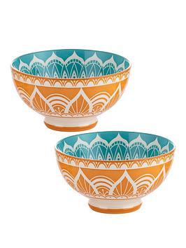 Typhoon World Foods Set Of 4 India Bowls