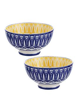 Typhoon Typhoon World Foods Set Of 2 Tunis Bowls Picture