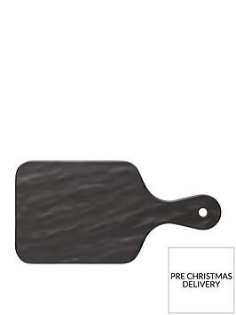 kitchencraft-we-love-summer-melamine-slate-effect-rectangular-serving-board