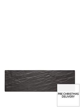 kitchencraft-we-love-summer-melamine-slate-effect-rectangular-serving-platter