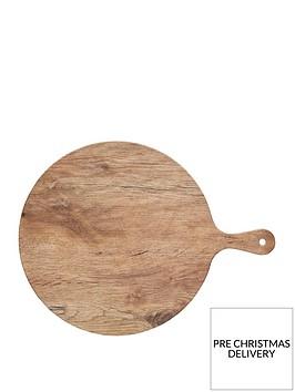 kitchencraft-we-love-summer-melamine-wood-effect-round-serving-platter