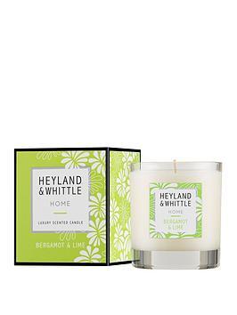 Heyland & Whittle  Home Candle - Bergamot &Amp; Lime