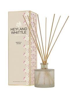 Heyland & Whittle Gold Classic Reed Diffuser - Neroli Rose