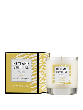 Heyland & Whittle Heyland & Whittle Home Candle - Vetiver &Amp; Musk Picture