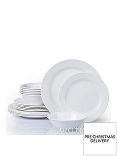 waterside-18-piece-white-round-melamine-dinner-set
