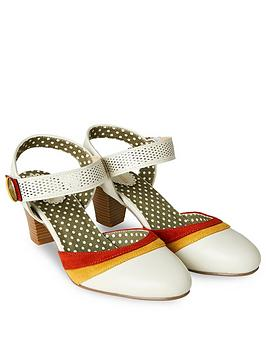 Joe Browns Joe Browns Marie'S Vintage Style Shoes - Stone Picture