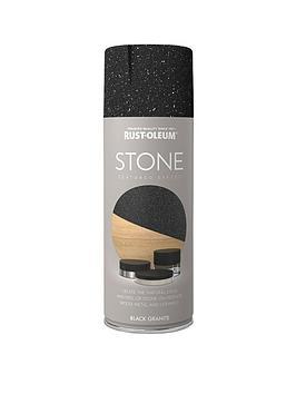 Rust-Oleum Rust-Oleum Stone Black Granite 400Ml Picture