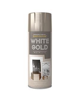Rust-Oleum Rust-Oleum Elegant White Gold 400Ml Picture