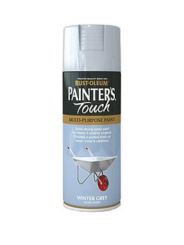 Rust-Oleum Rust-Oleum Painter&Rsquo;S Touch Winter Grey Gloss Finish  ... Picture