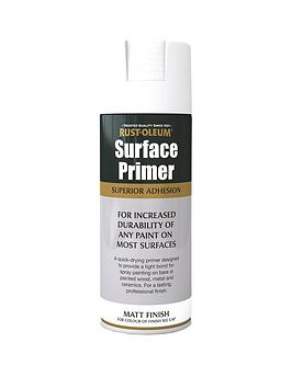 Rust-Oleum Rust-Oleum Surface Primer White Matt 400Ml Picture