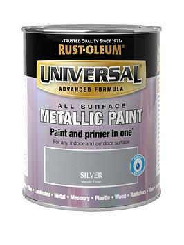 Rust-Oleum Rust-Oleum Metallic Silver Universal Metal And All Surface  ... Picture
