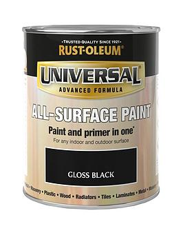 Rust-Oleum Rust-Oleum Gloss Black Universal Metal And All-Surface Paint -  ... Picture
