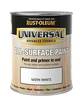 Rust-Oleum Rust-Oleum Universal Metal And All Surface Paint - Satin White  ... Picture