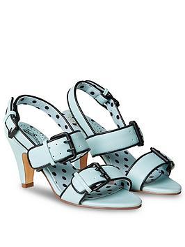 Joe Browns Joe Browns Carnaby Street Buckle Sandals - Blue Picture
