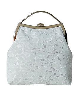 Joe Browns Joe Browns Sweet Darcie Lace Bag - Grey Picture