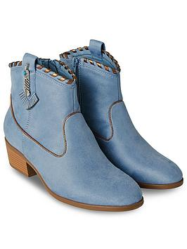 Joe Browns Joe Browns Cherokee Ankle Boots - Blue Picture