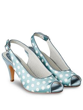 Joe Browns Joe Browns Sweet Thing Slingback Shoes - Blue Picture