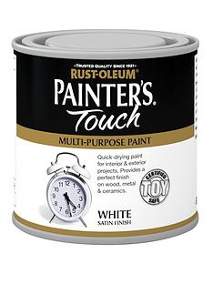 rust-oleum-painterrsquos-touch-toy-safe-satin-finish-multi-purpose-paint-ndash-white-250-ml