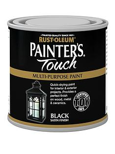 rust-oleum-painterrsquos-touch-toy-safe-satin-finish-multi-purpose-paint-ndash-black-250-ml