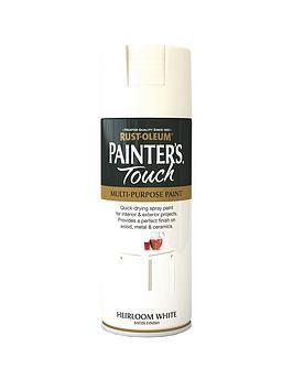 rust-oleum-painterrsquos-touch-satin-finish-multi-purpose-spray-paint-ndash-heirloom-white