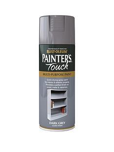 rust-oleum-dark-grey-gloss-finish-multi-purpose-spray-paint--nbsp400ml