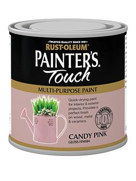 Rust-Oleum  Painter'S Touch Toy Safe Candy Pink Gloss 250Ml