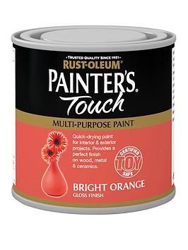 Rust-Oleum  Painter&Rsquo;S Touch Toy Safe Gloss Multi-Purpose Paint &Ndash; Bright Orange 250 Ml