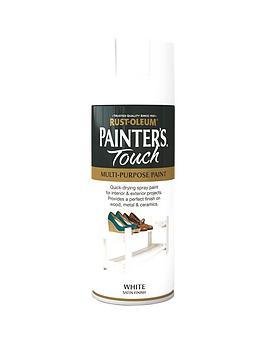 Rust-Oleum Rust-Oleum Painter&Rsquo;S Touch White Satin Finish  ... Picture