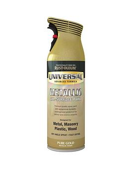 Rust-Oleum Rust-Oleum Metallic Pure Gold Universal Metal And All Surface  ... Picture