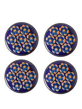 Maxwell & Williams Maxwell & Williams Majolica Side Plates Set Of 4 Picture