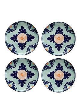 Maxwell & Williams Maxwell & Williams Majolica Side Plates &Ndash; Set Of 4 Picture