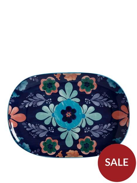 maxwell-williams-majolica-large-blue-oblong-platter