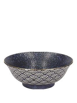 Kitchencraft Kitchencraft Mikasa Satori Living Gold Large Serving Bowl Picture