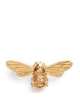 Olivia Burton  Lucky Bee Brooch Gold